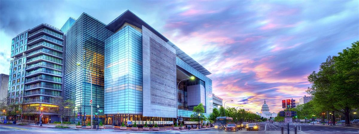 Newseum in Washington, District of Columbia