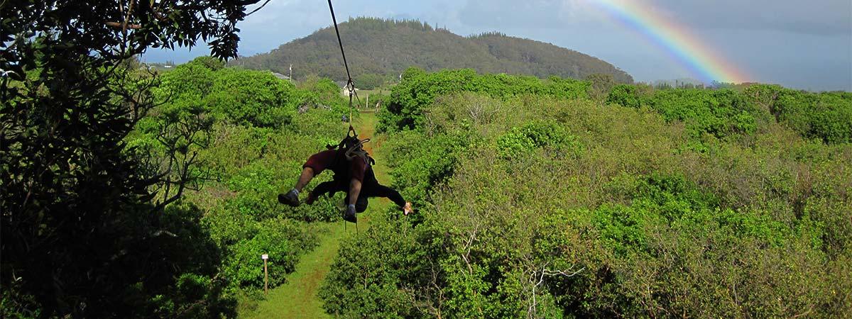 NorthShore Zipline Canopy Tours & Northshore Zipline Tour | Maui Ziplines