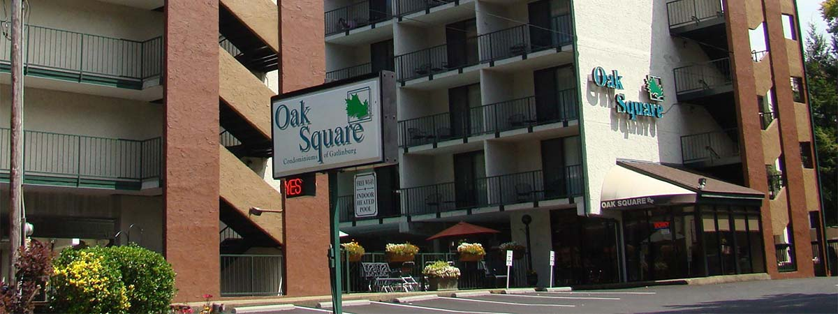 Oak Square Condominiums in Gatlinburg, Tennessee