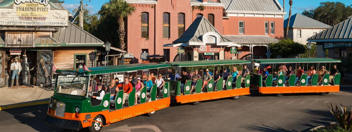 St. Augustine Hop-on Hop-off Sightseeing Tour in St. Augustine, Florida