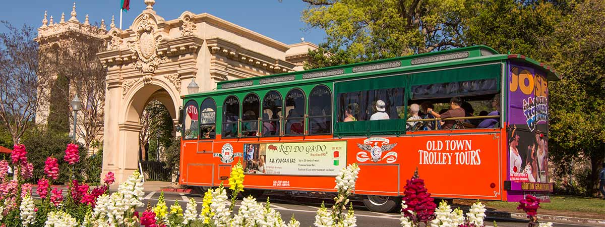 Old Town Trolley Hop-on Hop-off Sightseeing Tour  in San Diego, California