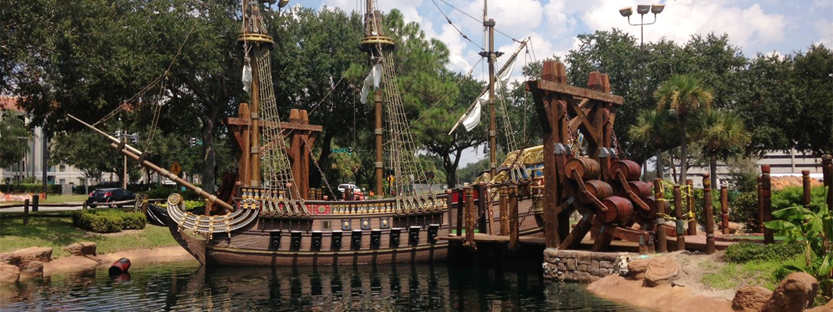 Pirate's Cove Adventure Golf in Orlando, Florida