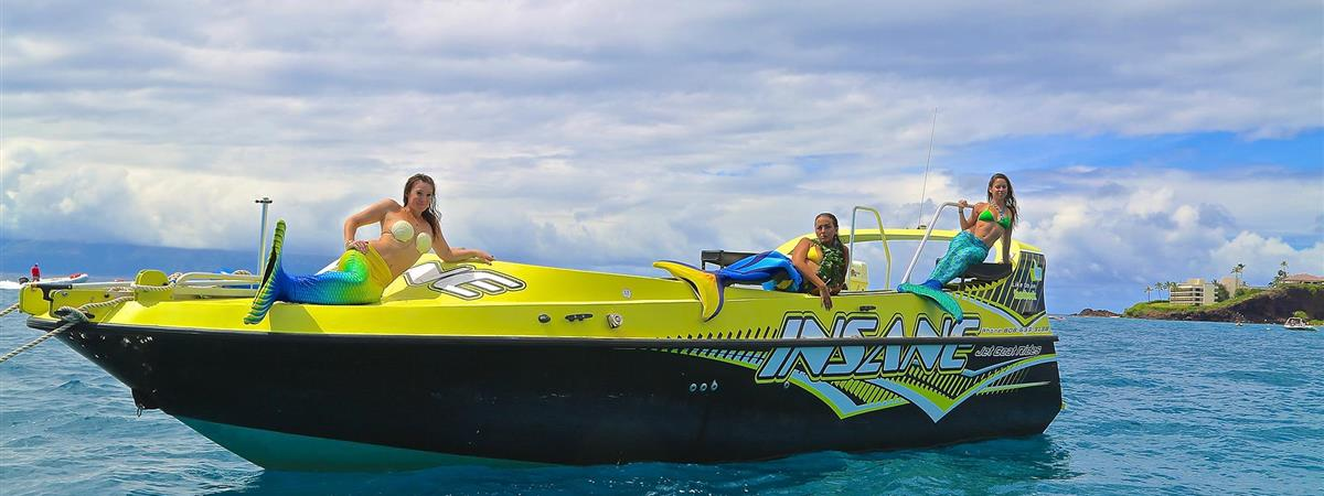 Private Charter Insane Jet Boat - 3 Hours to Lanai
