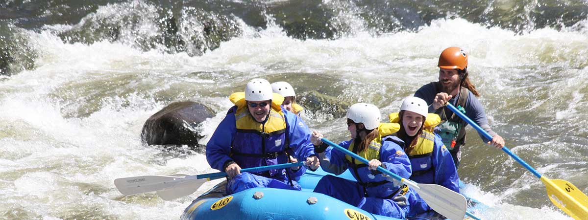 Rafting at Wildwater Adventure Center in Hartford, Tennessee