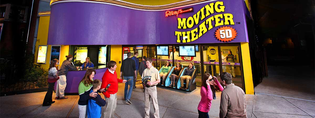 Ripley's Moving Theater in Gatlinburg, Tennessee
