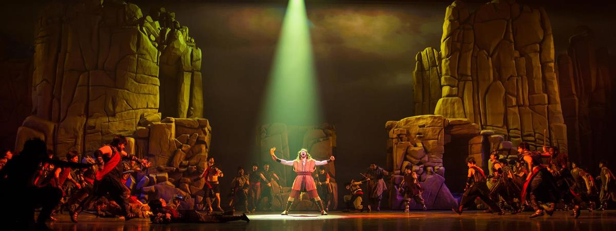 Samson  in Branson, Missouri