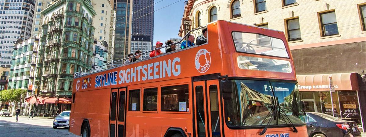 San Francisco City Sightseeing Hop-On Hop-Off Tour Tickets