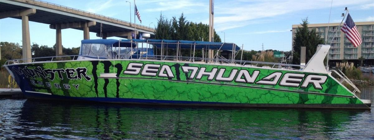 Sea Thunder- Myrtle Beach Dolphin Cruises