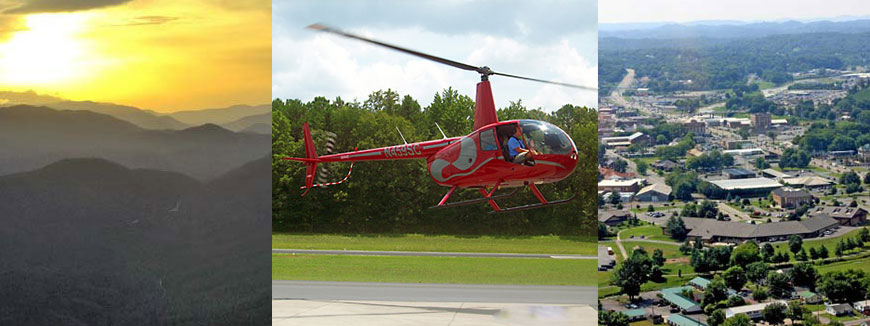 Sevier County Choppers Helicopter Tours in Sevierville, Tennessee