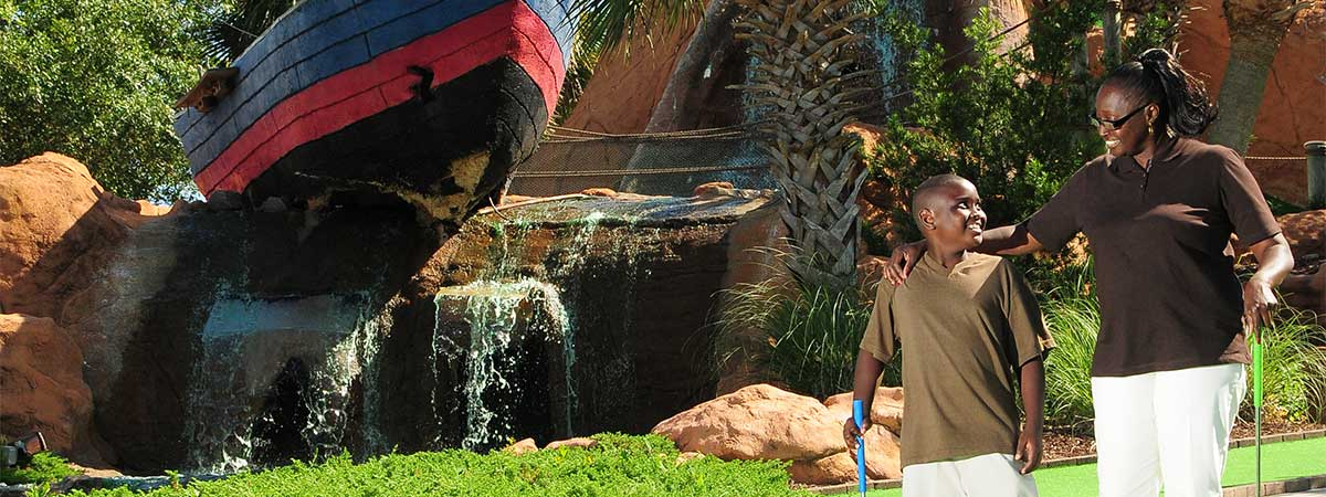 Shipwreck Island Adventure Golf in Myrtle Beach, South Carolina
