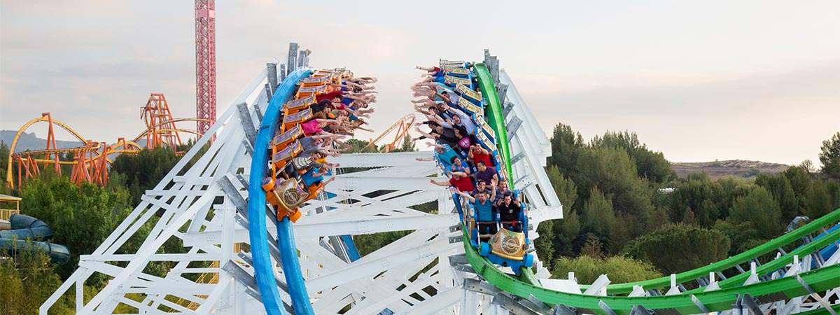 Six Flags Magic Mountain in Valencia, California