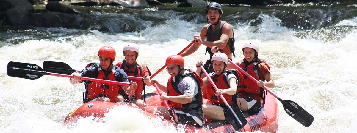 Rafting with Smoky Mountain Outdoors