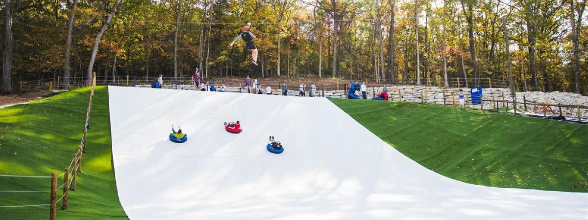 Snowflex Tubing Hill  in Walnut Shade , Missouri