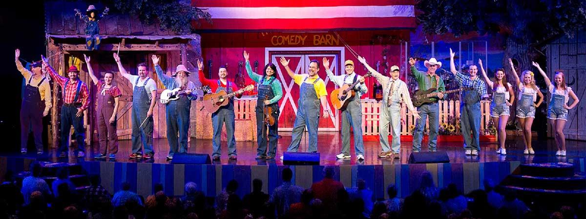 The Comedy Barn in Pigeon Forge, Tennessee