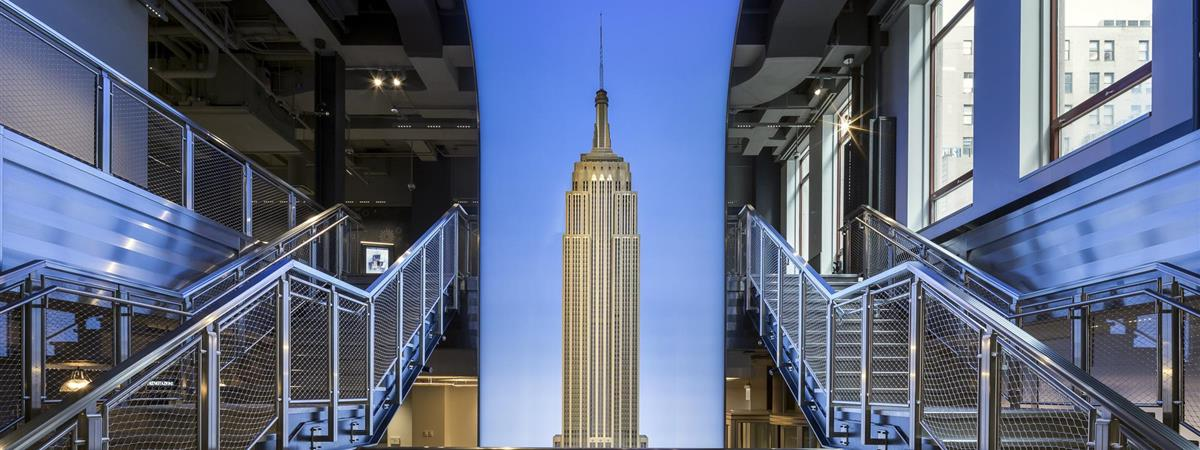The Empire State Building Experience in New York, New York