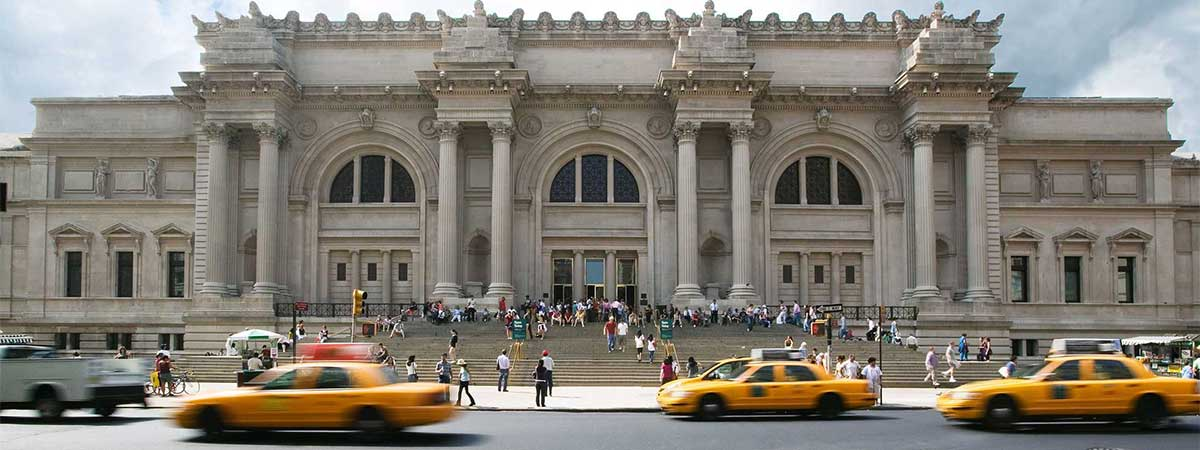 The Metropolitan Museum of Art – or the Met – is one of the world's most famous art museums, containing a world-class collection of art from ancient to contemporary times. The Met's permanent collection is always on view, and visitors can take a trip through time by walking through the architecturally impressive rooms.