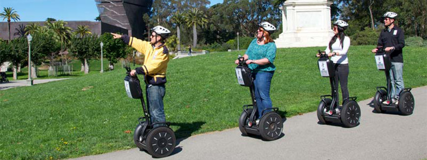 The Official Golden Gate Park Segway Tour