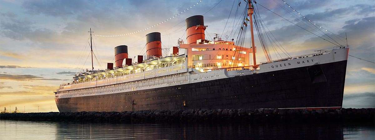 The Queen Mary in Long Beach, California