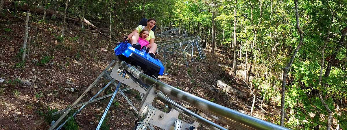 The Runaway Mountain Coaster in Branson, Missouri