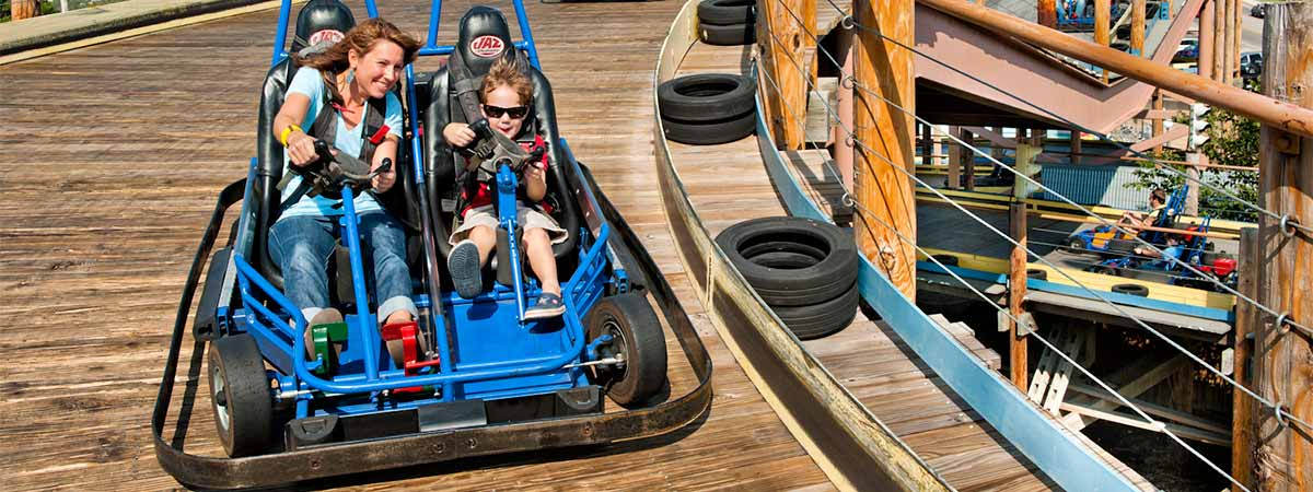 The Track Family Fun Parks  in Branson, Missouri