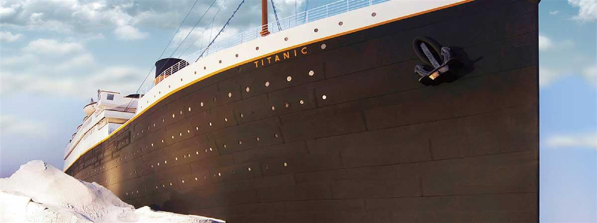 Titanic Museum Attraction in Branson, Missouri