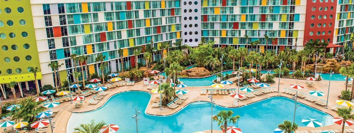 Universal's Cabana Bay Beach Resort in Orlando, Florida