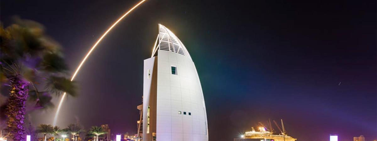 VIP Launch Viewing at Exploration Tower in Port Canaveral, Florida