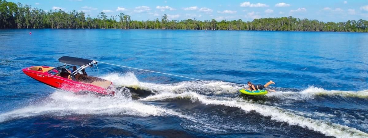 Waterski, Wakeboard, & Tubing Charters with Buena Vista Watersports