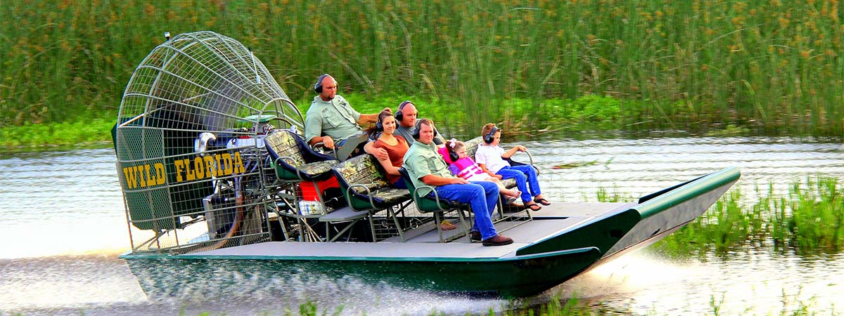 Wild Florida Airboats in Kenansville, Florida