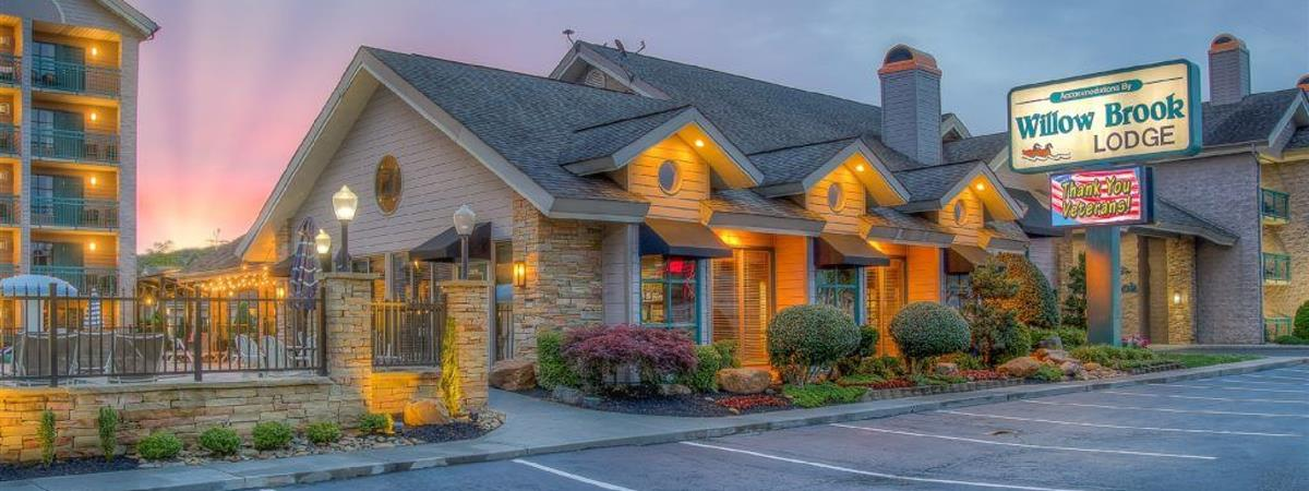 Accommodations by Willow Brook Lodge in Pigeon Forge, Tennessee