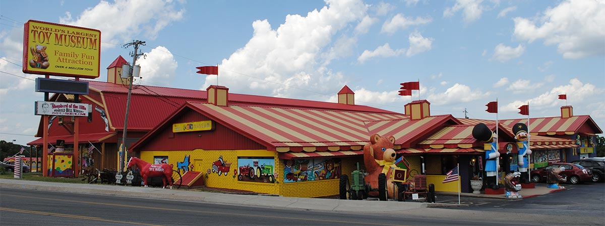 World's Largest Toy Museum  in Branson, Missouri
