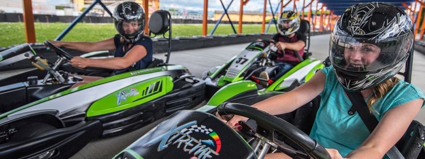 Xtreme Racing Center in Pigeon Forge, Tennessee