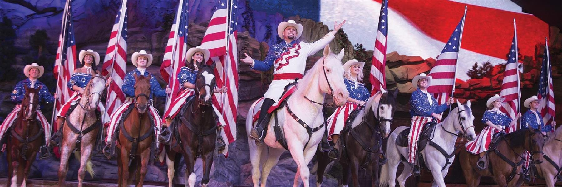 Dolly Parton's Stampede Dinner Attraction in Branson, Missouri