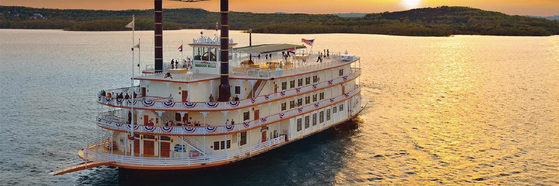 Showboat Branson Belle in Branson, Missouri