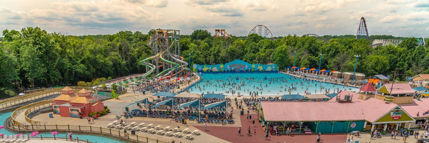 Six Flags Washington DC / Baltimore  in Bowie, Maryland