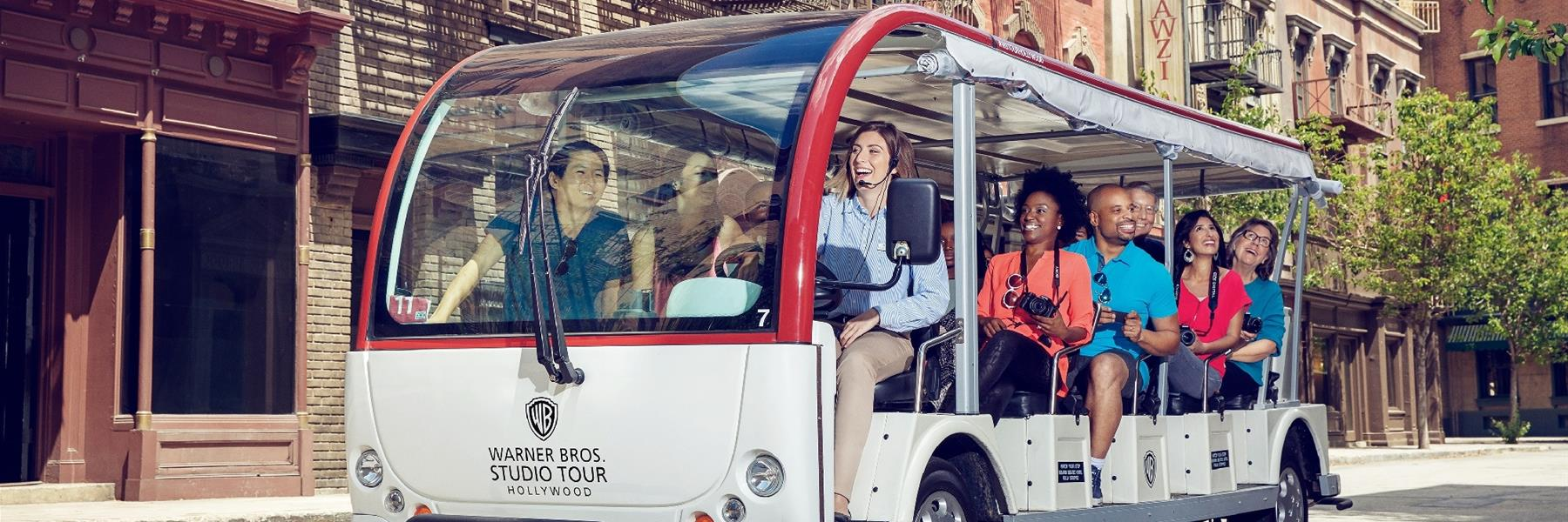 Warner Bros. Studio Tour Hollywood in Burbank, California