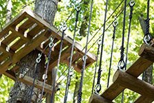 Tree Tops Ropes Course in Sevierville TN