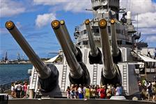 Battleship Missouri Memorial in Honolulu, Hawaii