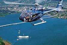 Blue Hawaiian Oahu Helicopter Tours in Honolulu, Oahu, Hawaii
