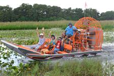 Boggy Creek Airboat Rides in Kissimmee FL