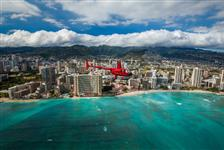 City by the Sea Helicopter Tour Doors Off or On in Honolulu, Hawaii