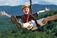 Foxfire Mountain Adventure Park in Sevierville TN