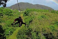 NorthShore Zipline Canopy Tours in Haiku, Maui, Hawaii