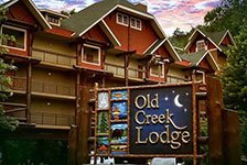 Old Creek Lodge in Gatlinburg TN