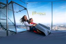 OUE Skyspace Observation Deck in Los Angeles CA