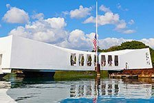 A Day at Pearl Harbor in Honolulu, Oahu, Hawaii
