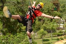 Gatorland's Screamin' Gator Zip line with Free Gatorland Park Admission in Orlando FL