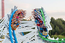 Six Flags Magic Mountain in Valencia CA