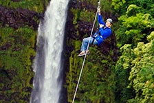 Skyline Eco Adventures Big Island Zipline Tour in Honomu, Big Island HI