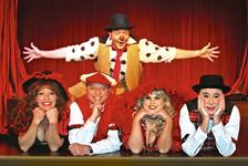 "Sweet Fanny Adams Presents ""The Biggest Little Show on Earth"" in Gatlinburg TN"